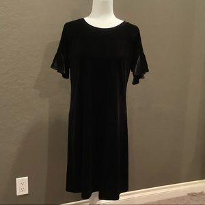Worthington Black Shift Dress - Size Large